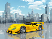 красивейшие спорты автомобиля Стоковое Изображение RF