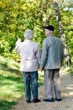 Красивейшие старшие пары Стоковые Фото