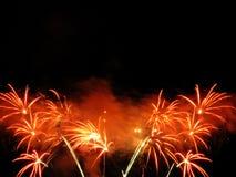 красивейшие феиэрверки Стоковая Фотография RF