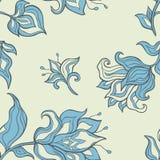 красивейшие цветки безшовное предпосылки флористическое Стоковое Фото