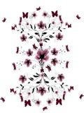 красивейшие цветки вишни иллюстрация штока