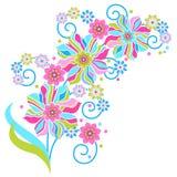 красивейшие цветки иллюстрация штока