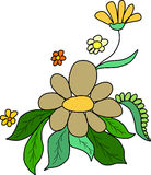красивейшие цветки Стоковое Изображение