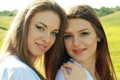 красивейшие 2 детеныша Стоковое Изображение RF