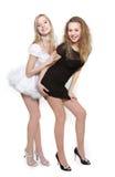 красивейшие 2 женщины молодой стоковое изображение rf