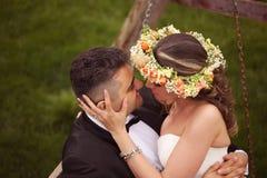 красивейшие bridal пары Стоковое Изображение
