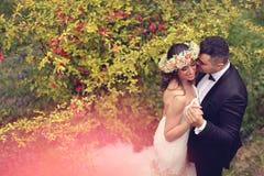красивейшие bridal пары Стоковая Фотография RF