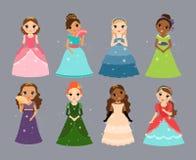 Красивейшие princesses Стоковое Фото