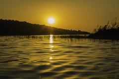 красивейший ландшафт вечера Стоковые Изображения RF