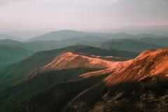 Красивейший ландшафт лета Стоковая Фотография RF