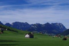красивейший ландшафт сельской местности Стоковое Изображение