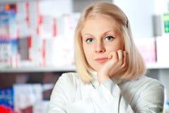 Красивейший аптекарь. стоковые изображения rf