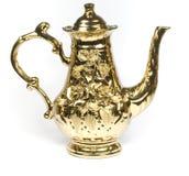 красивейший бак золота кофе Стоковое Изображение