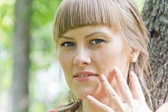 красивейший белокурый портрет девушки Стоковая Фотография RF