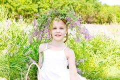 красивейший белокурый портрет девушки Стоковая Фотография