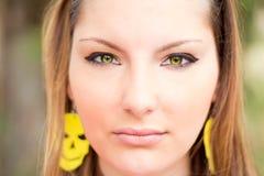 красивейший белокурый портрет девушки Стоковое фото RF