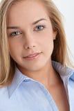 красивейший белокурый портрет Стоковое Фото