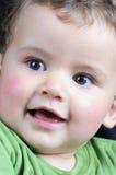 Красивейший белокурый усмехаться мальчика Стоковая Фотография