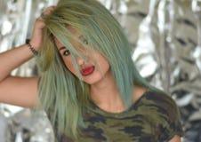 красивейший белокурый портрет девушки Стоковое Фото
