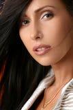 красивейший близкий модельный портрет вверх Стоковое Изображение