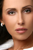 красивейший близкий модельный портрет вверх Стоковое Фото