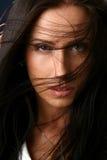 красивейший близкий модельный портрет вверх Стоковые Фото