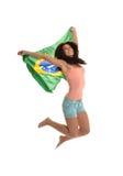 Красивейший бразильский вентилятор Стоковые Фото