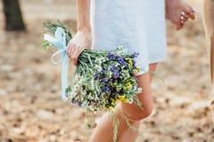 красивейший букет цветет одичалое Стоковое Изображение RF