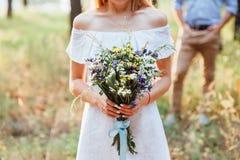 красивейший букет цветет одичалое Стоковые Изображения