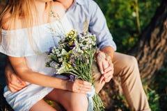 красивейший букет цветет одичалое Стоковое Фото