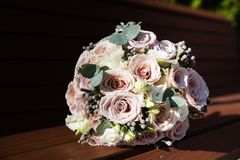 красивейший букет bridal Стоковые Фотографии RF