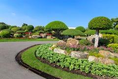 красивейший вал сада карлика Стоковое Изображение RF