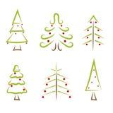 красивейший вектор валов иллюстрации рождества Стоковые Изображения RF
