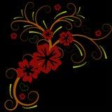 красивейший вектор цветка конструкции Стоковая Фотография