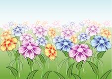 красивейший вектор цветков Стоковые Фотографии RF