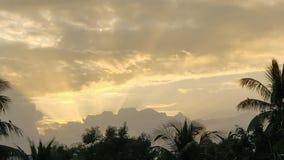 красивейший вечер стоковое изображение rf