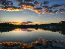 красивейший вечер Стоковое Фото