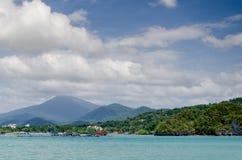Красивейший взгляд моря Langkawi Стоковое Изображение RF