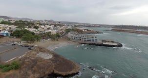 красивейший взгляд океана сток-видео