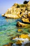красивейший взгляд океана Стоковые Изображения RF