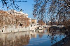 Красивейший взгляд Рим Стоковые Изображения