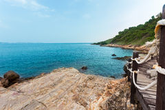 красивейший взгляд моря Стоковое Изображение RF