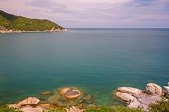 красивейший взгляд моря Стоковые Фотографии RF