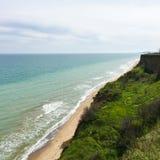 Красивейший взгляд моря Стоковые Изображения