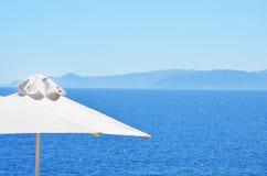 красивейший взгляд моря Стоковые Фото