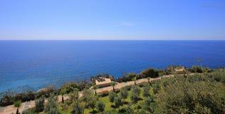 Красивейший взгляд моря Стоковое Изображение