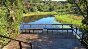 Красивейший взгляд озера Стоковое Изображение RF