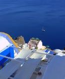Красивейший взгляд Santorini Стоковая Фотография RF
