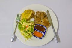 красивейший вкусный стейк свинины Стоковые Фотографии RF
