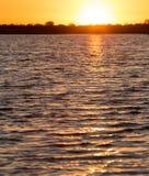 красивейший восход солнца озера Стоковое Фото